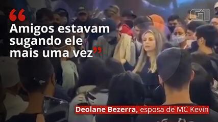 VÍDEO: Esposa de MC Kevin desabafa: 'amigos estavam sugando ele mais uma vez'