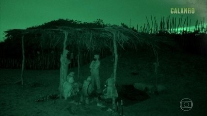 Tribos enfrentam noite de tempestade