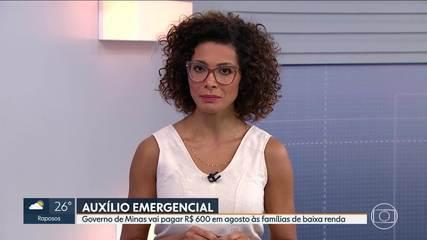 Governo de Minas publica lei que cria auxílio emergencial para pessoas de baixa renda