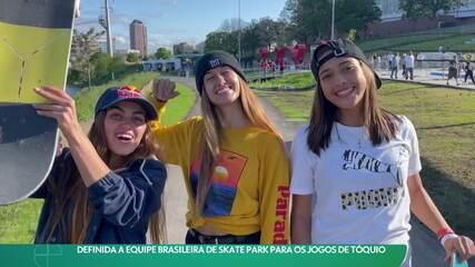 Equipe brasileira de skate park para os Jogos Olímpicos de Tóquio está definida