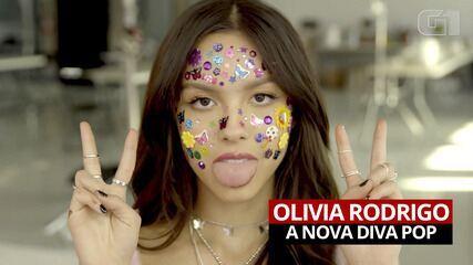 Olivia Rodrigo faz sucesso já no seu primeiro álbum solo