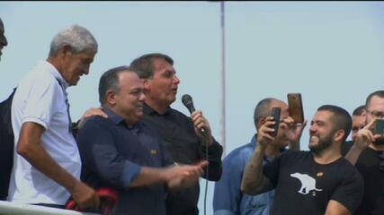 Exército decide apurar participação de Pazuello em ato com Bolsonaro