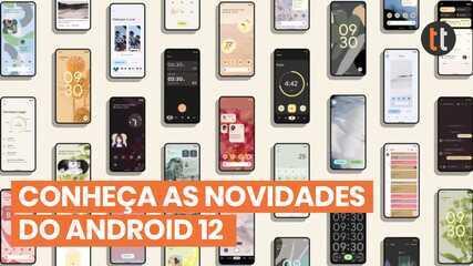 NOVO ANDROID 12 - CONHEÇA AS NOVIDADES!