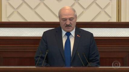 Presidente de Belarus defende decisão de forçar o pouso de um voo comercial por suposta ameaça de bomba