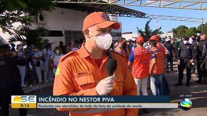 Bombeiro fala sobre incêndio em hospital de Aracaju