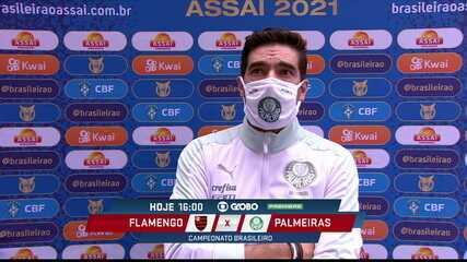 Técnico Abel Ferreira fala sobre a quantidade de demissões no futebol brasileiro