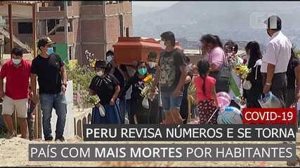 Video: Gobierno de Perú-19 corrige cifras y se convierte en el país con mayor número de muertes por ciudadano
