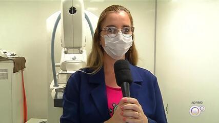 Carreta do Hospital do Amor convoca mulheres para mamografia em Andradina