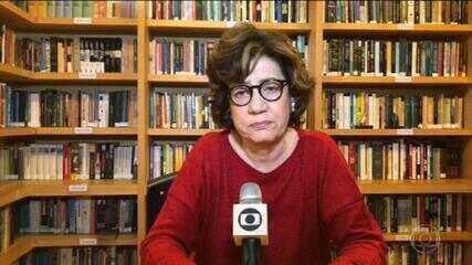 Miriam Leitão comenta os números do PIB do Brasil no 1º trimestre