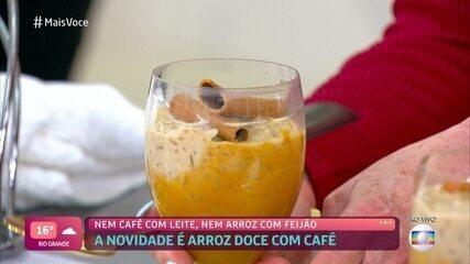 Arroz-Doce com Café