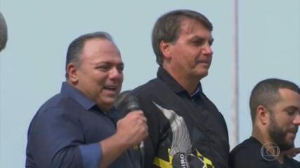 Exército livra Pazuello de punição por ter participado de um ato político com o presidente Bolsonaro