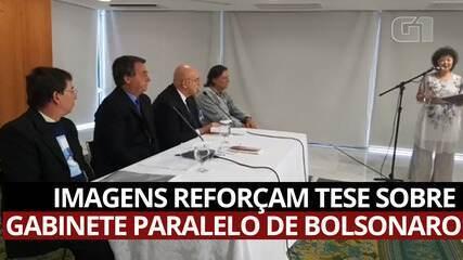 VÍDEO: Imagens reforçam tese sobre gabinete paralelo de Bolsonaro