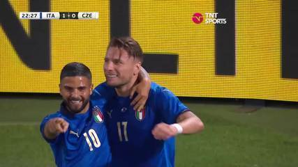 Os gols de Itália 4 x 0 República Tcheca em amistoso preparatório para a Eurocopa