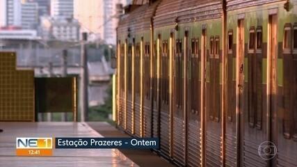Homem que foi arrastado por um trem, em Jaboatão, morre no Hospital da Restauração