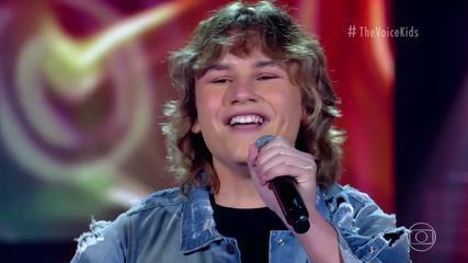João Vitor Kindel canta 'A Whole New World' no 'The Voice Kids'
