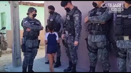 Criança ganha festa do Biesp em Santa Cruz do Capibaribe