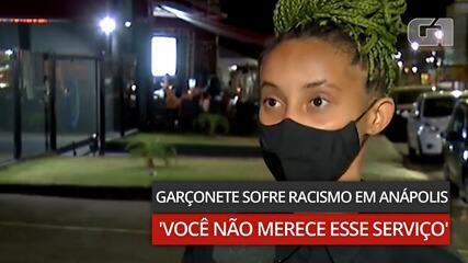 Garçonete acusa cliente de racismo em Anápolis
