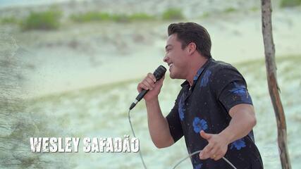 Tribo Calango é presenteada com um Luau de Wesley Safadão