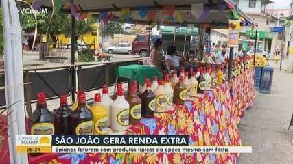 Baianos faturam renda extra com produção e vendas de produtos juninos neste ano