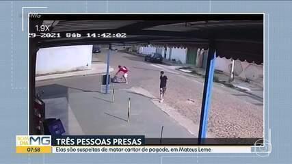 Pagodeiro é assassinado no meio da rua em Mateus Leme, na Grande BH