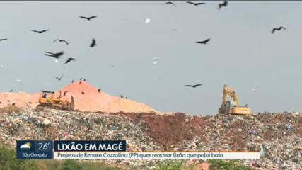 Câmara de Vereadores de Magé vota projeto para reativar lixão, em Magé