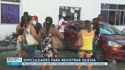 Passageiros relatam dificuldade de prestar queixa após assalto a ônibus em Salvador