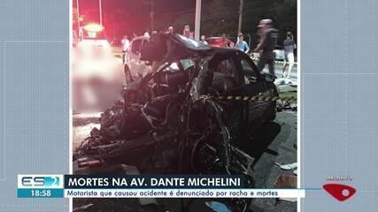Motorista que provocou acidente com duas mortes em Camburi foi denunciado por homicídio