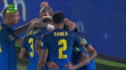 Melhores momentos de Paraguai 0 x 2 Brasil pela oitava rodada das Eliminatórias da Copa