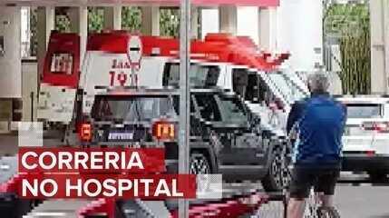 Falha em sistema de oxigênio de hospital de Maringá gera correria