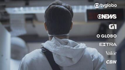 Globo lança campanha que mostra o dia a dia de jornalistas longe dos olhos do público
