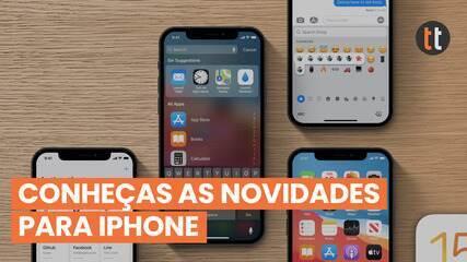 Conheça as funções do novo iOS 15