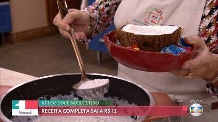 Aprenda a fazer arroz-doce nordestino