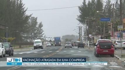 Moradores de Ilha Comprida reclamam de atraso na vacinação contra a Covid-19