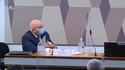 VÍDEO: 'Quando de vez em quando o presidente me pergunta alguma coisa e eu acho que tenho que falar, eu falo', diz Osmar Terra.