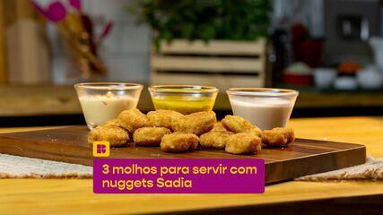 Confira 3 receitas de molhos para nuggets