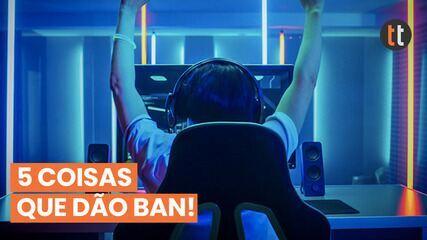 5 ações proibidas em jogos competitivos