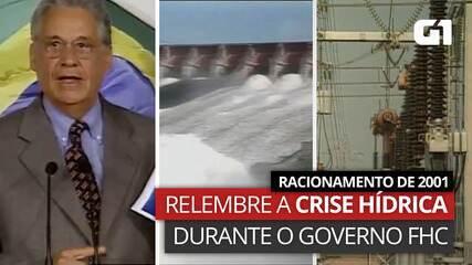 VÍDEO: Racionamento de 2001 – Relembre momentos-chave da crise hídrica no governo FHC