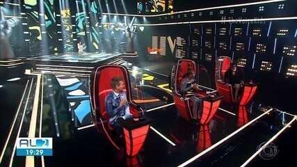 Alagoana Lorena França avança de fase no The Voice Kids