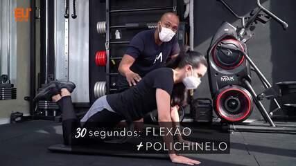 Faça um treino completo de funcional full body com o personal trainer Jodi Moraes