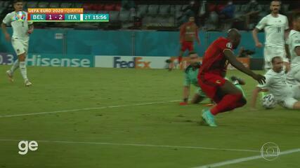 Leonardo Spinasola ha difeso l'Italia contro il Belgio al 15' del secondo tempo