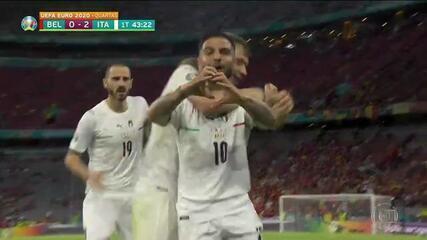 Melhores momentos de Bélgica 1 x 2 Itália, pelas quartas de final da Eurocopa