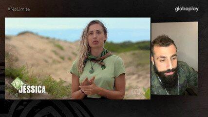 'Bate-Papo 'No Limite': Kaysar comenta treta com Jéssica