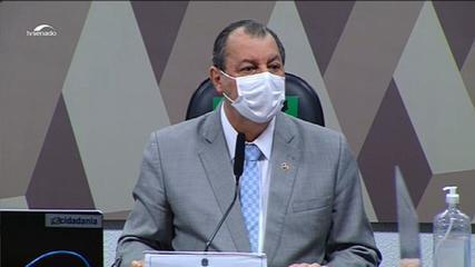 Aziz a Bolsonaro: 'Por favor, diga que Luis Miranda está mentindo'