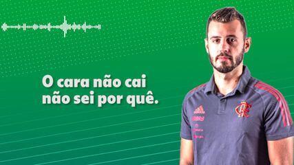"""Analista do Flamengo detona trabalho de Ceni: """"O cara não cai. Não sei por quê"""""""