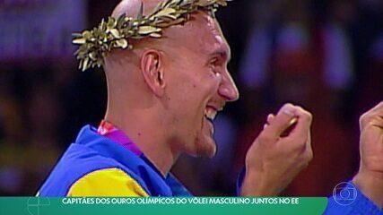 Os Capitães: Carlão, Nalbert e Bruninho relembram os títulos olímpicos do vôlei masculino do Brasil