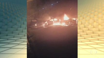 Criminosos invadem empresa de metais e trocam tiros com a polícia em Jarinu-SP