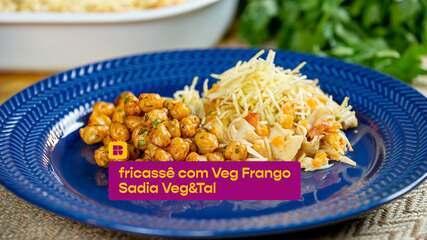 Aprenda a fazer um delicioso fricassê vegetariano