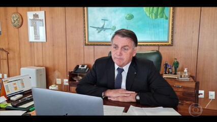 Bolsonaro afirma que fará uma pequena mudança ministerial