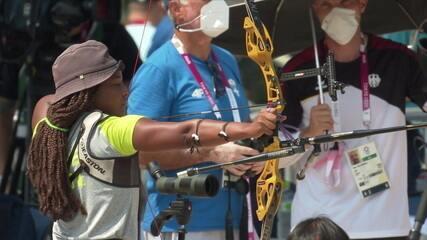 Tiro com Arco: Brasileira Ana Marcelle marca 636 pontos nas Olimpíadas de Tóquio 2020