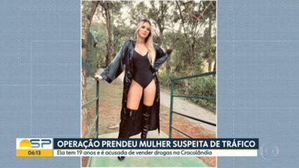 'Gatinha da Cracolândia' levava vida de luxo sustentada pelo tráfico, diz delegado